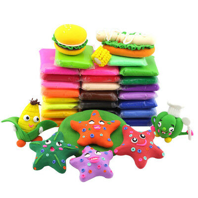 POP DIY Malleable Fimo Polymer Modelling Soft Clay Blocks Plasticine Excellent