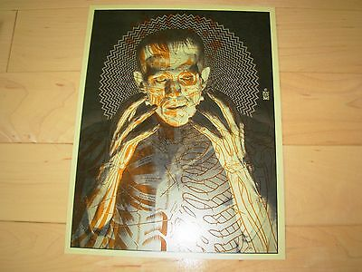 BRIAN EWING Art Print FRANKENSTEIN Poster lithograph w/ spot varnish