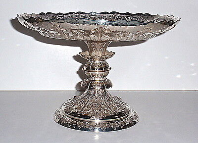 Antique- Silver Tazza by Martin Hall and Co. Sheffield