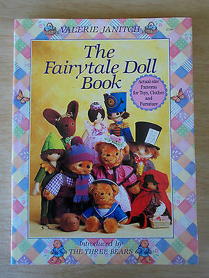 The Fairytale Doll Book~Toys~Clothes~Furniture~Bears~Patterns~Valerie Janitch~HB