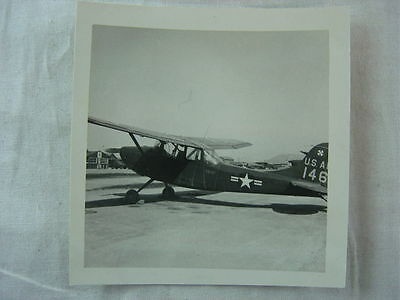 Vintage Photo US Air Force Reconnaissance Airplane 789