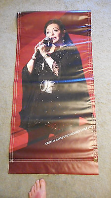 RARE!! Crystal Gayle Grand Ole Opry Vinyl Poster Banner