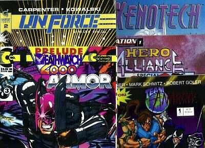 Lot of 5 Independent Comics from the eairly 90's and 4 of them are #1's