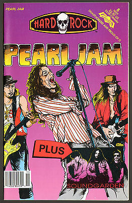 Pearl Jam & Soundgarden - Hard Rock - Revolutionary Comics # 8 - 1992 - VG+