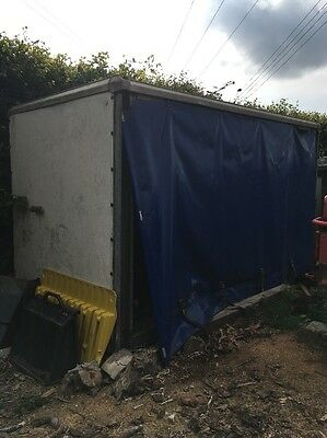 Container Curtainside Storage Shed Ideal For A Yard