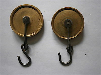 PAIR OF LONGCASE GRANDFATHER CLOCK  8day line spools   C1780