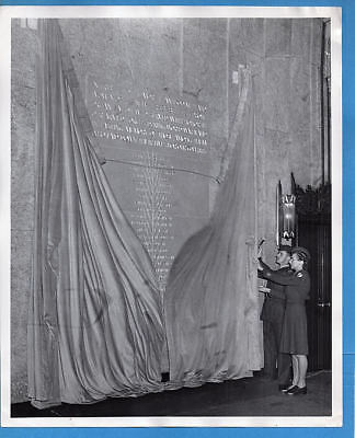 1947 Newark New Jersey Soldiers Unveil Memorial Photo