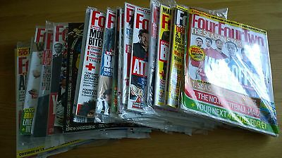 four four two football magazines x 17