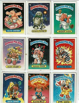 A Lot Of Over  500 Topps Garbage Pail Kids Trading Cards In Ex Or Better Cond