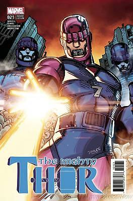 mighty Thor #21 X-Men Card Lee Variant Ultimate Team-Up Marvel Comics