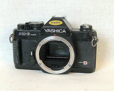 Yashica FX-3 Super Camera Body Only.