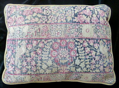 Antique Vintage Turkish Persian Rug Kilim Pillow 18X14 Cushion Throw Pillow