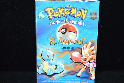 Pokemon Base Blackout Theme Deck Factory Sealed English