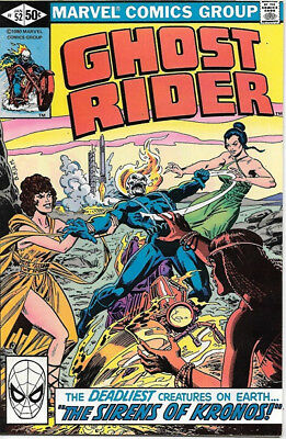 Ghost Rider Comic Book #52 Marvel Comics 1981 NEAR MINT NEW UNREAD