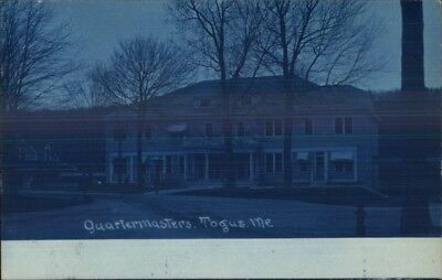 Togus ME Veterans Soldiers Home c1905 Cyanotype Real Photo Postcard #3