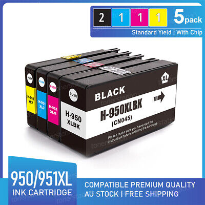 5x HP Ink Cartridge 950XL 951XL for Officejet pro 8100 8610 8620 8630 8600 plus