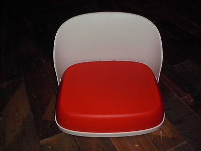 Oxo Tot Booster Seat For Big Kids Folding Orange And White Plastic