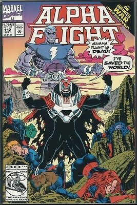 Alpha Flight 112 -- An Infinity War crossover