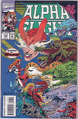 Alpha Flight 123 -- Infinty Crusade Crossover