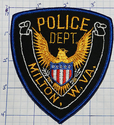 West Virginia, Milton Police Dept Eagle Patch
