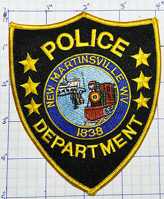 West Virginia, New Martinsville Police Dept Patch