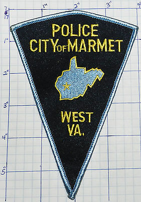West Virginia, Marmet Police Dept Triangle Patch