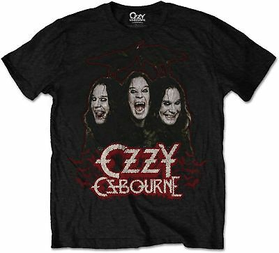 OZZY OSBOURNE Crows And Bars T-SHIRT OFFICIAL MERCHANDISE