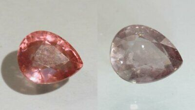 Color Shift Garnet Purple Pink Faceted Pear Natural African Gemstone 2.08 Carat