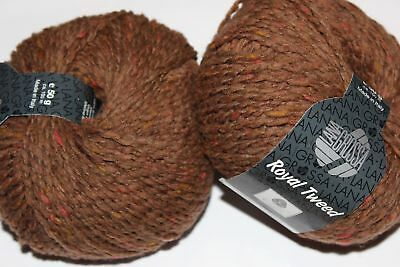 Wolle Kreativ! Lana Grossa - Royal Tweed - Fb. 63 kupfer meliert 50 g