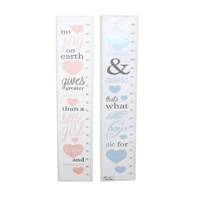 Wooden Measuring Height Growth Chart Ruler With Poems For Baby Kids Room Nursery