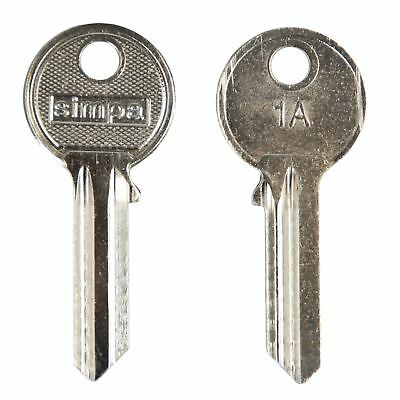 Simpa® 1A YA1E 5 Pin Cylinder Universal Steel Key Blanks Superior Quality