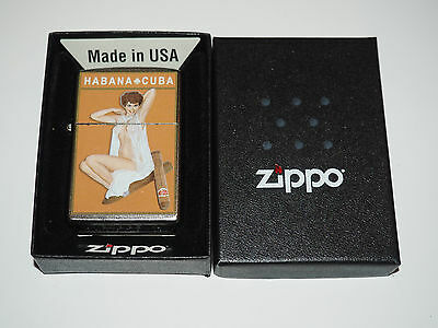 Hard To Find Habana Pinup  Zippo  Lighter