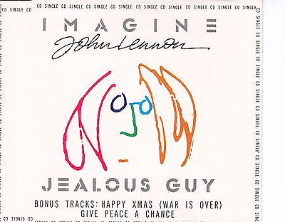 CDS JOHN LENNON imagine - jealous guy GERMAN 1988 EX+