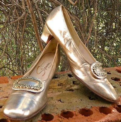 VINTAGE Westbrook by Mason 1960s Original Leather Retro Shoes Size 8-81/2 AA