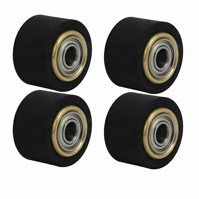 4mmx11mmx16mm Silicone Pinch Roller Rolling Wheel for Engraving Machine 4Pcs