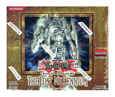Yu-Gi-Oh! Ygo The Lost Millennium (Il Millennio Perduto) Box 24 Buste Packs Eng