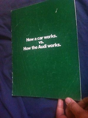 1971 Audi 100LS and Super 90 USA Market Color Brochure Catalog Prospekt