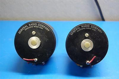 Pair Of General Radio Co. Variable Potentiometer 976-S12
