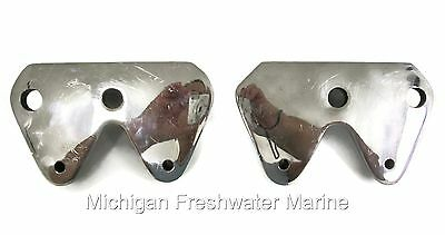 Mercruiser TR TRS Dual Steering Twin Outdrive Mounting Brackets Stainless Steel