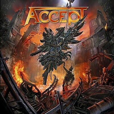 Accept - The Rise Of Chaos [New CD]
