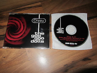 THE GOO GOO DOLLS Dizzy 1999 AUSTRALIAN CD single acoustic versions of Slide