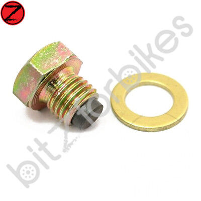 Magnetic Oil Drain Sump Plug JMP Yamaha YBR 125 SPD 2008 to 2013