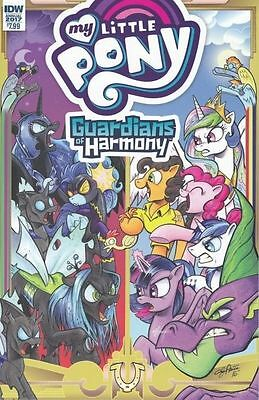 My little Pony Guardians of Harmony 2017 Annual IDW comic Book NM 1st print
