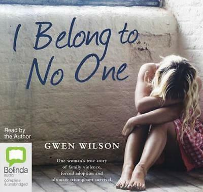 NEW I Belong To No One By Gwen Wilson Audio CD Free Shipping