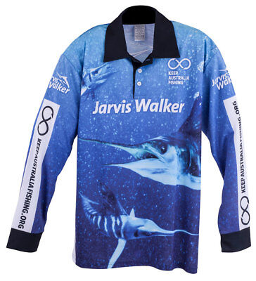 Jarvis Walker MARLIN Tournament Fishing Shirt
