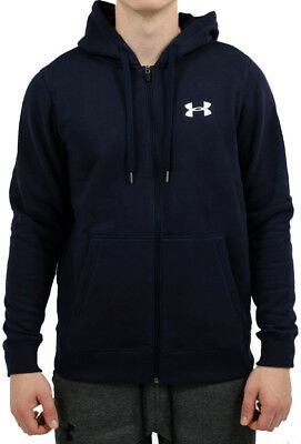 Under Armour Rival Fleece Mens Fitted Running Hoody - Blue