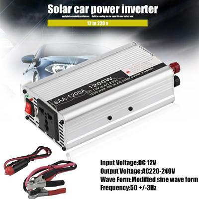 SAA 1500W Inverter Car Vehicle Voltage Inversor Car Power Inverter Car Invert SP
