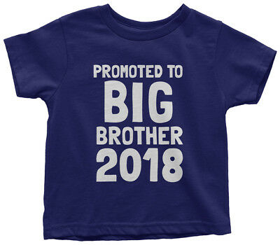 Promoted To Big Brother 2018 Toddler T-Shirt Expecting Baby Gift