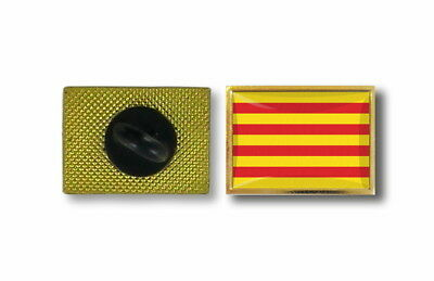 pins pin's flag national badge metal lapel backpack hat button vest catalonia