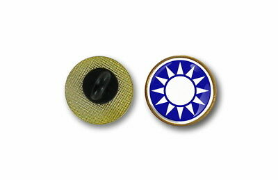 pins pin's flag national badge lapel hat button air force roundel taiwan china